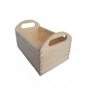 Drewniany pojemnik na pieczywo