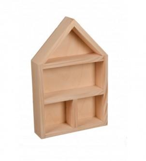 Szafeczka drewniana na różności