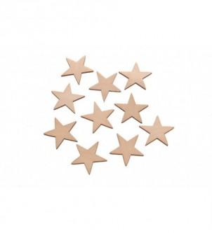Skarapki gwiazdki duże - 10 szt w komplecie G-2