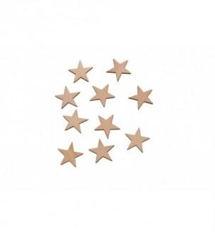 Skrapki gwiazdki małe 10 szt w komplecie G-1