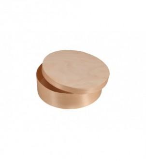 Drewniane pudełko okrągłe 20cm