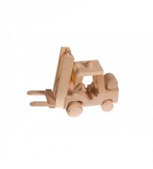 Drewniana ozdoba wózek widłowy