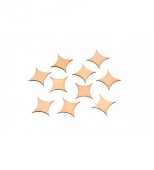 Skrapki gwiazdeczki w komplecie 4,5cm G-3