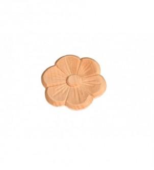 Kwiat ręcznie rzezbiony 9,5cm