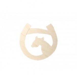 Template horseshoe and...