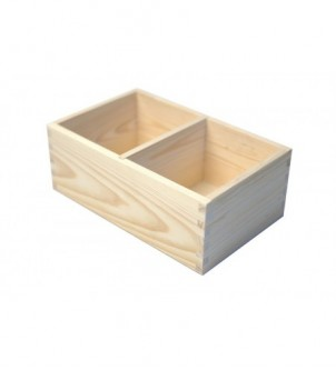 Box with two compartments...