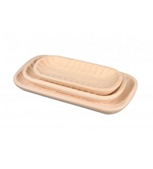 Miska drewniana komplet 3sztuk