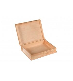 Drewniane pudełko księga pamiątkowa