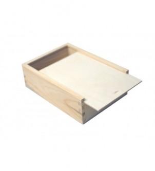 Drewniany piórnik przybornik na kredki