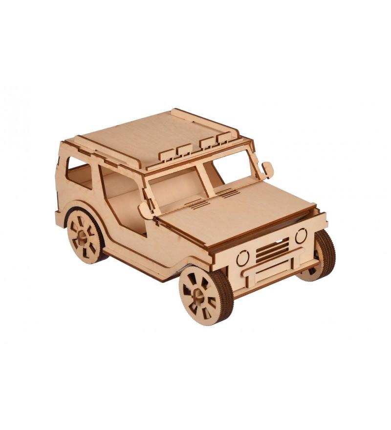 drewniany model do składania