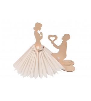 Serwetnik na wesele dla Pary Młodej