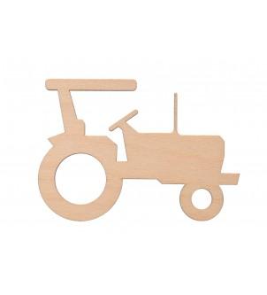 Traktor 12x8,5cm