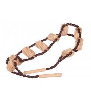 Drewniany masażer na plecy