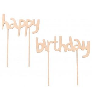 Topper Happy Birthday na tort