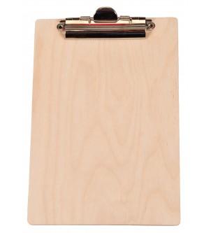 Drewniana podkładka pod kartki clipboard A5