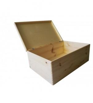Skrzynka drewniana pojemnik 60x40x23cm