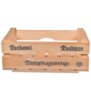 Drewniana skrzynka dla...