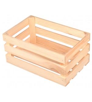 Drewniana skrzynka mała 22cm