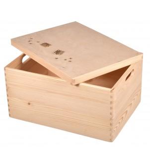 Pudełko drewniane 40x30x23cm