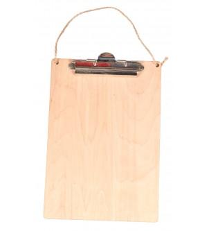 Podkładka pod kartki clipboard A4 z sznurkiem