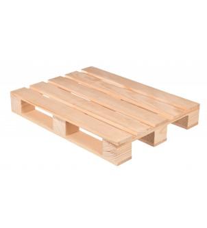 Mini drewniana paleta...