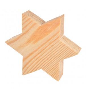 Drewniana gwiazda styl...