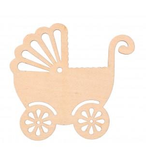 Wózek dekor drewniany do...