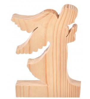 Drewniany anioł dekoracja  podziękowania