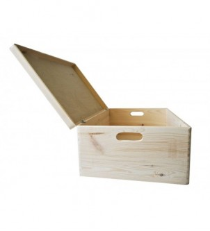 A large box with lid
