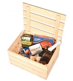 Skrzynka drewniana pudełko na podziękowania wesele 40x30