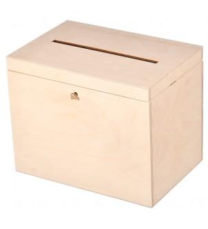 Pudełko na koperty z życzeniami 29x20x21,5cm