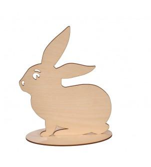 Wielkanoc zając drewniany dekoracja do decoupage