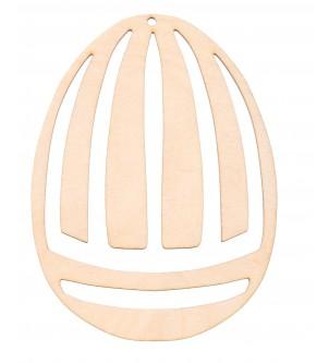 Drewniany dekor jajko wielkanocne