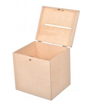 Pudełko drewniane na koperty duże Ślub Wesele