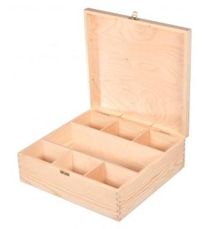 Pudełko na KARAFKĘ i 6 SZKLANEK decoupage