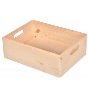 Skrzynka drewniana na prezenty S-02