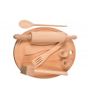 Akcesoria kuchenne drewniane