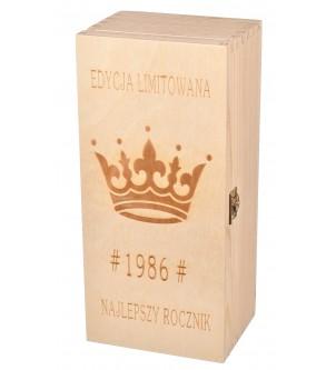 Pudełko z grawerem na Jack Daniels
