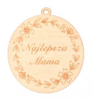 Drewniany medal Najlepsza Mama