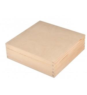 Pudełko drewniane Decoupage
