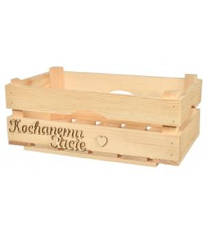 Drewniana skrzynka...