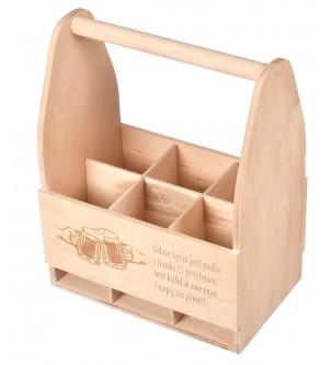 Drewniane nosidło na prezent