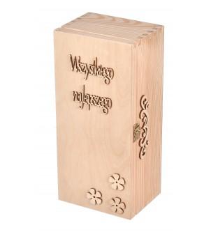 Drewniane pudełko na whisky Jack Daniels prezent
