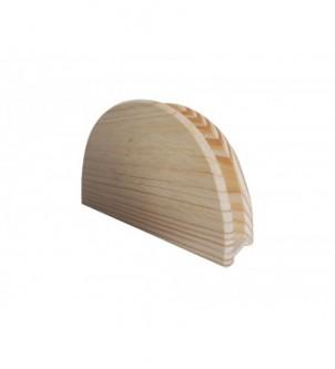 Drewniany stojak na serwetki serwetnik