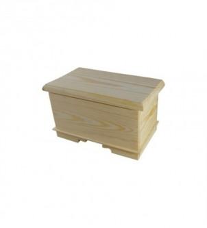 Casket, wooden box
