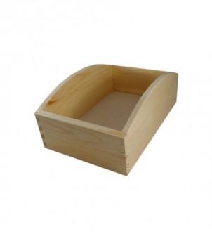 Drewniany pojemnik na chleb 30x20x12cm