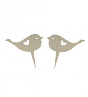 Ornament for wedding cake - birds