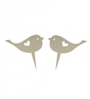 Ornament for wedding cake - birds