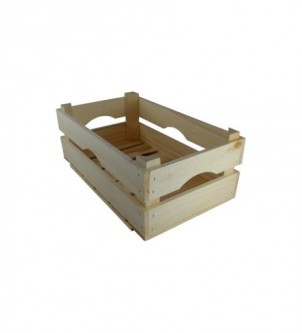 Wooden box for vegetables