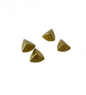 Narożniki metalowe,komplet 4szt - kolor złoty